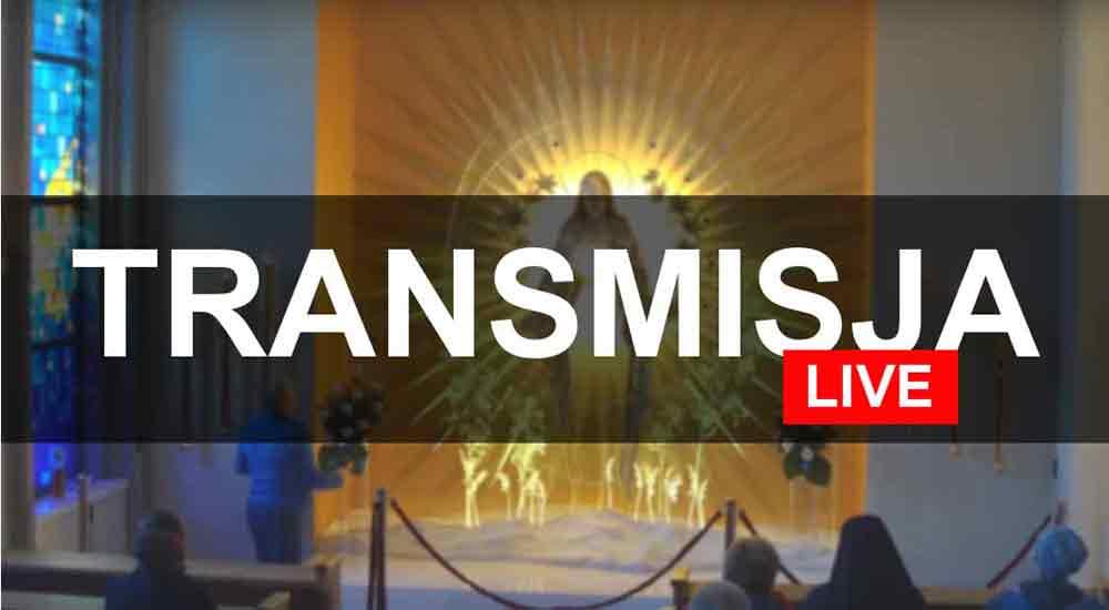 Transmisja online z Mszy Świętej w parafii w Kamienicy